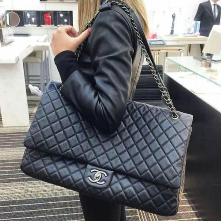 2228a864a771 CHANEL AIRLINE XXL CLASSIC FLAP BAG on Carousell