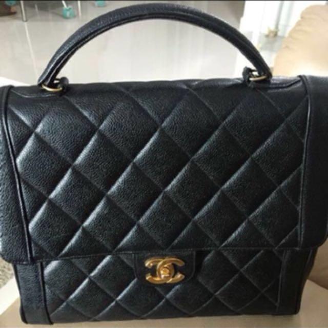 3eb2f27e182e Chanel Kelly bag, Luxury, Bags & Wallets, Handbags on Carousell
