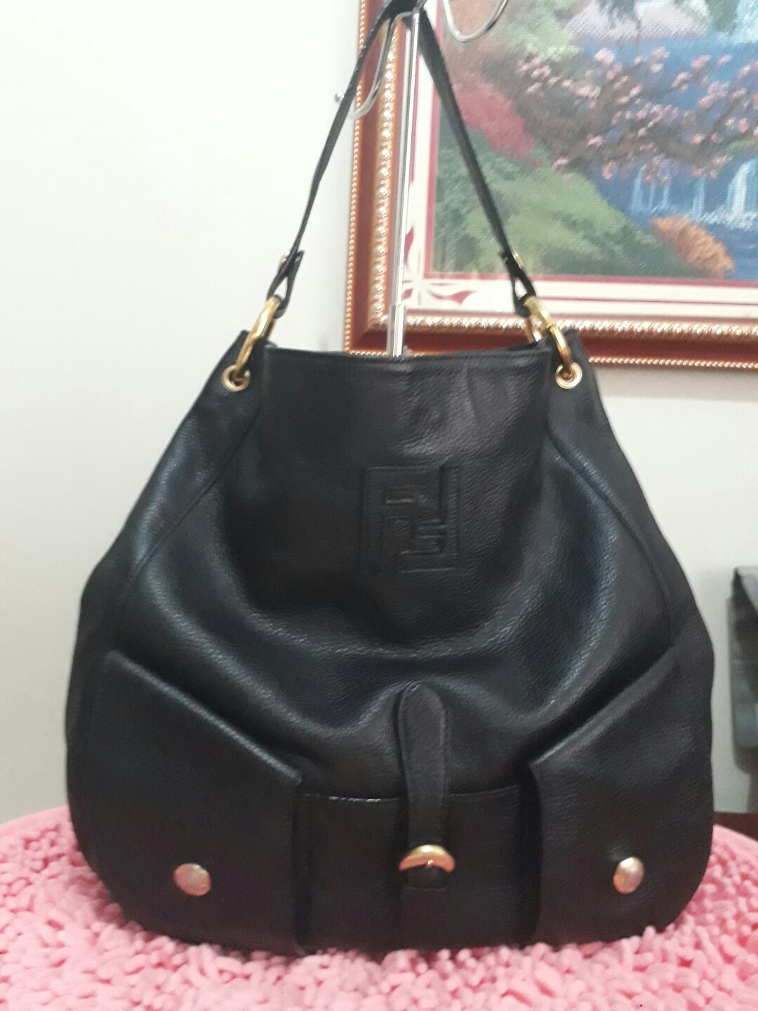 57e2fc8efc ... get fendi hobo preloved womens fashion bags wallets on carousell 61f30  337de