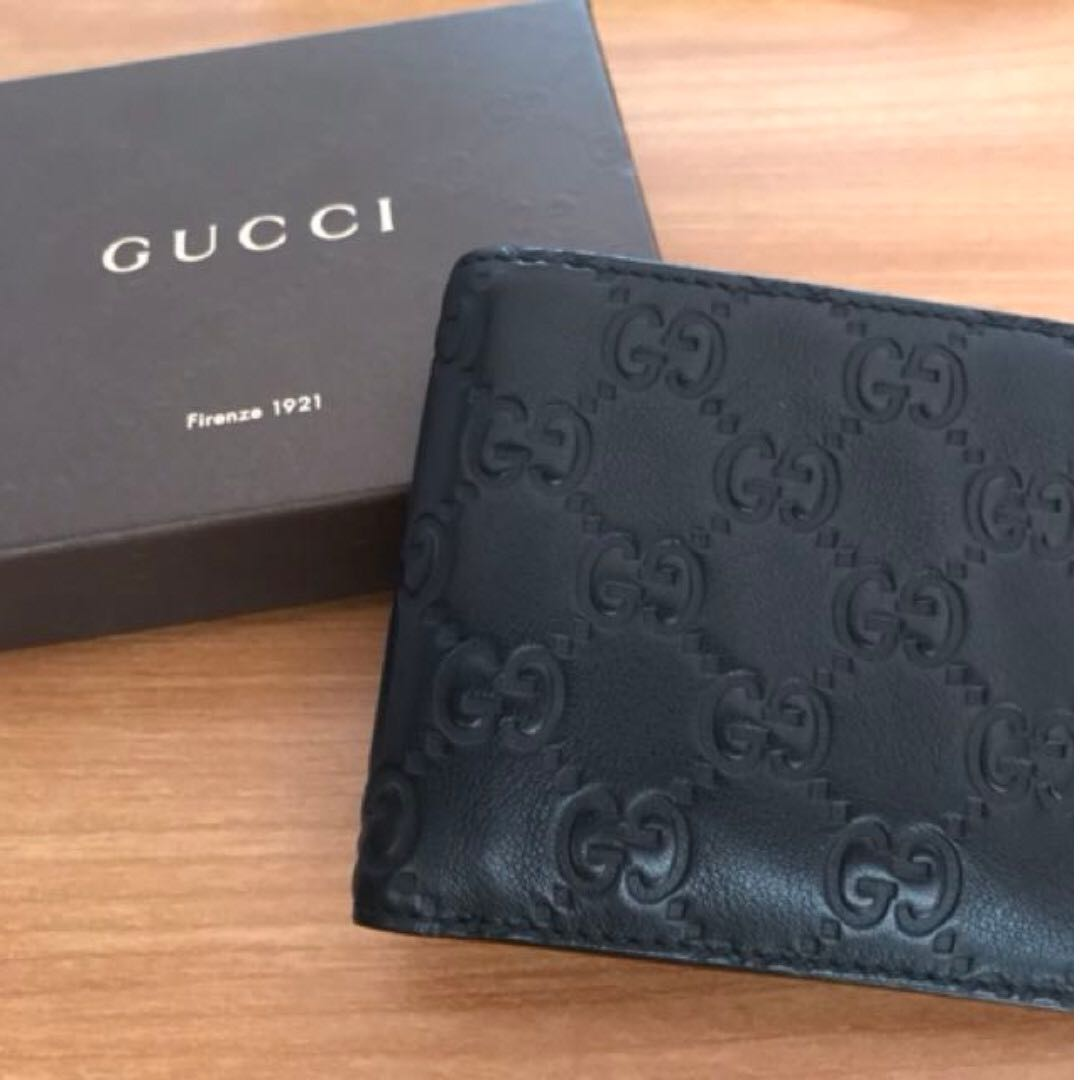 f5a33b189c45b1 Gucci Guccissima Wallet, Luxury, Bags & Wallets, Wallets on Carousell