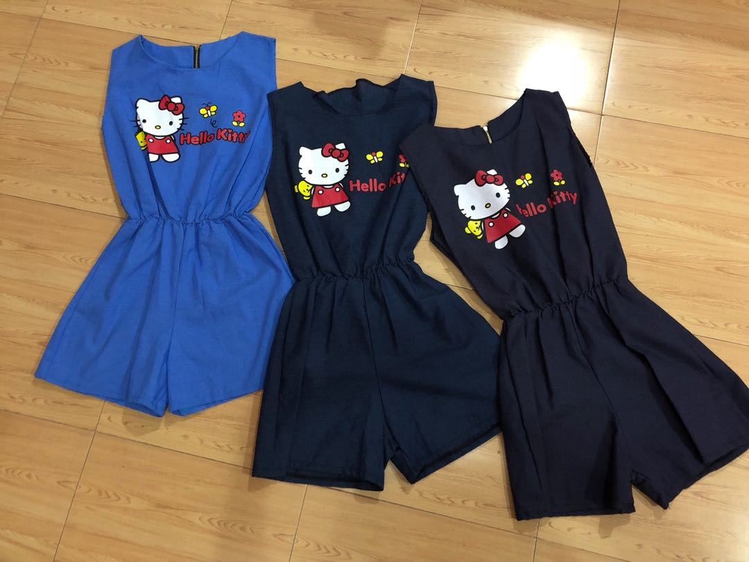 c6a8ecc6a hello kitty romper/jumpsuit, Women's Fashion, Clothes, Rompers ...
