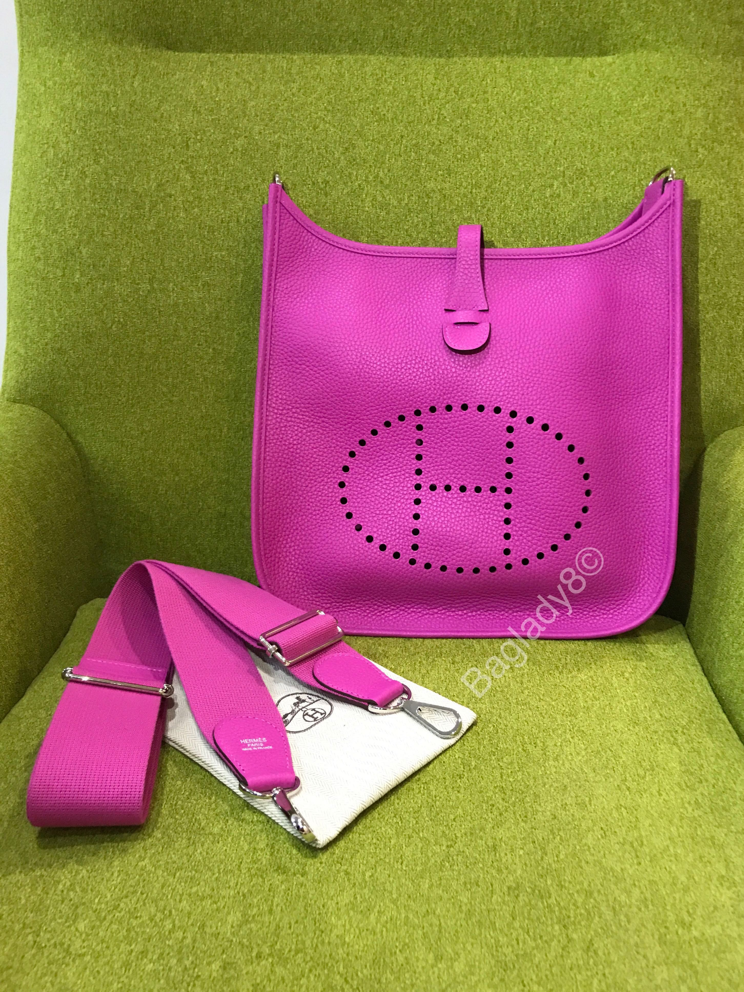 2f23e42d0fef ... low cost hermes evelyn pm in magnolia for sale womens fashion bags  wallets handbags on carousell