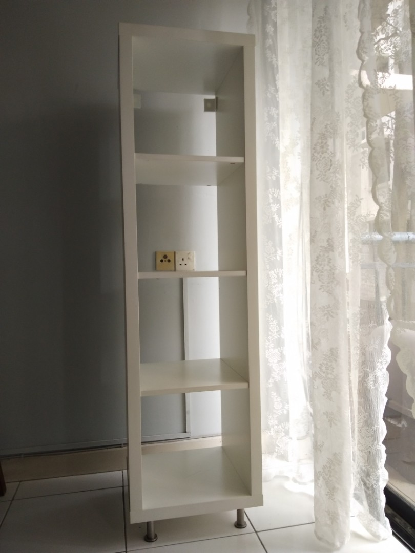 IKEA kallax shelf with capita legs