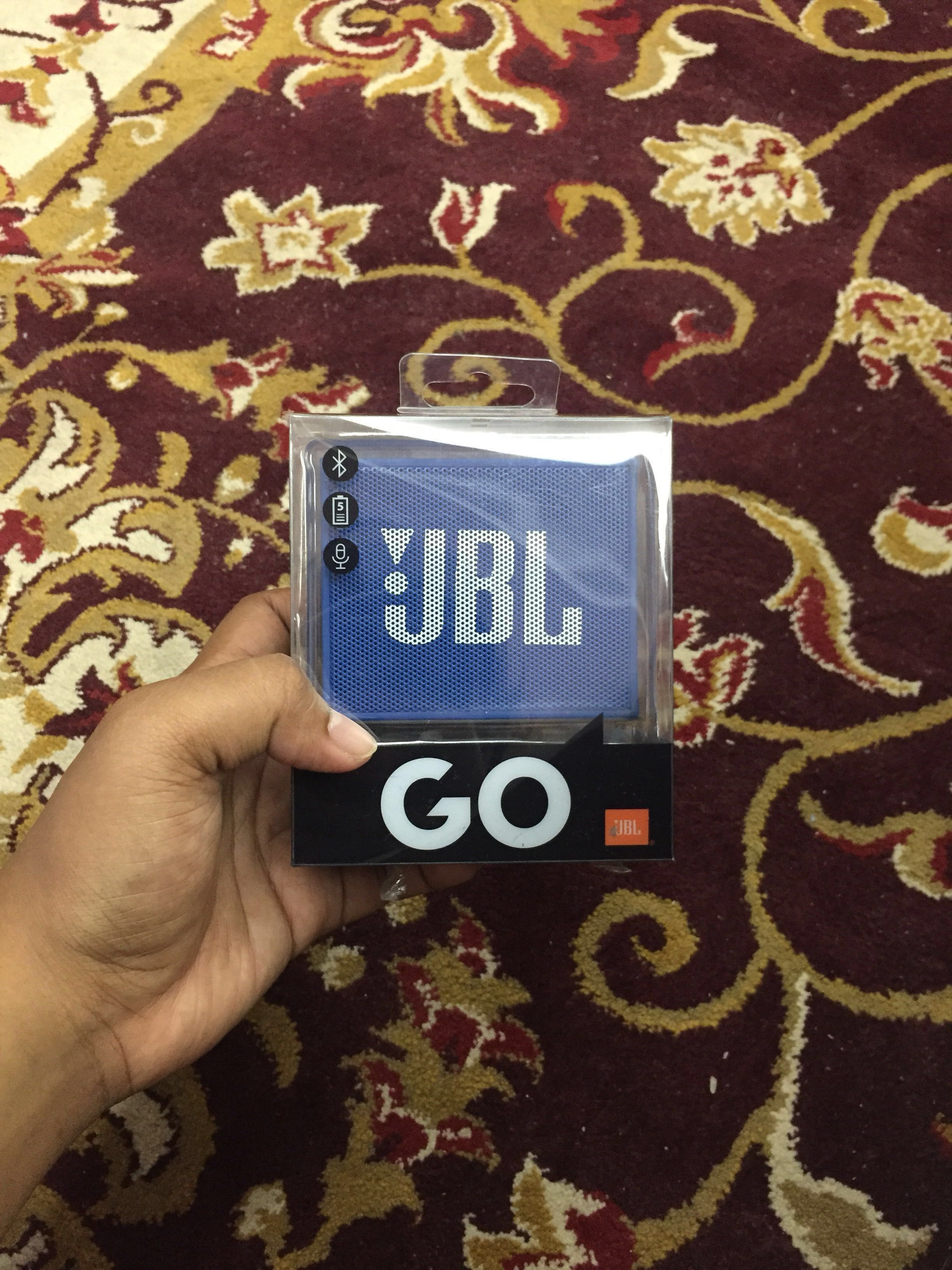 Jbl Go Portable Bluetooth Speaker Under90 Electronics Audio On Flip 3 Splashproof Merah Carousell