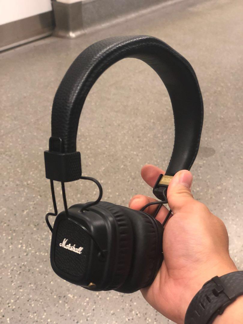 aee40b40811 Marshall Major II Bluetooth Headphones, Electronics, Audio on Carousell