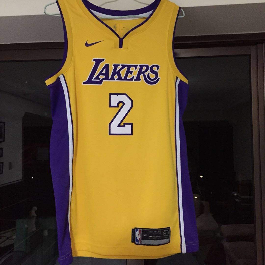 check out fab31 e995f Men's NBA Lonzo Ball Nike Jersey