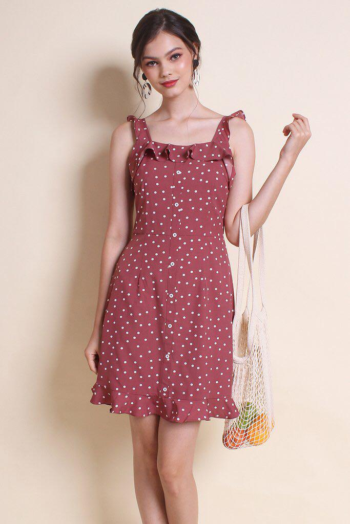 Neonmello Polka Dot Sundress BNWT
