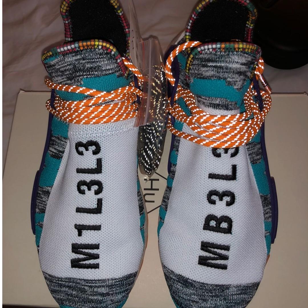 2621f872a New 2018 Pharrell Williams Originals Adidas Solar Hu NMD M1L3L3 Men ...