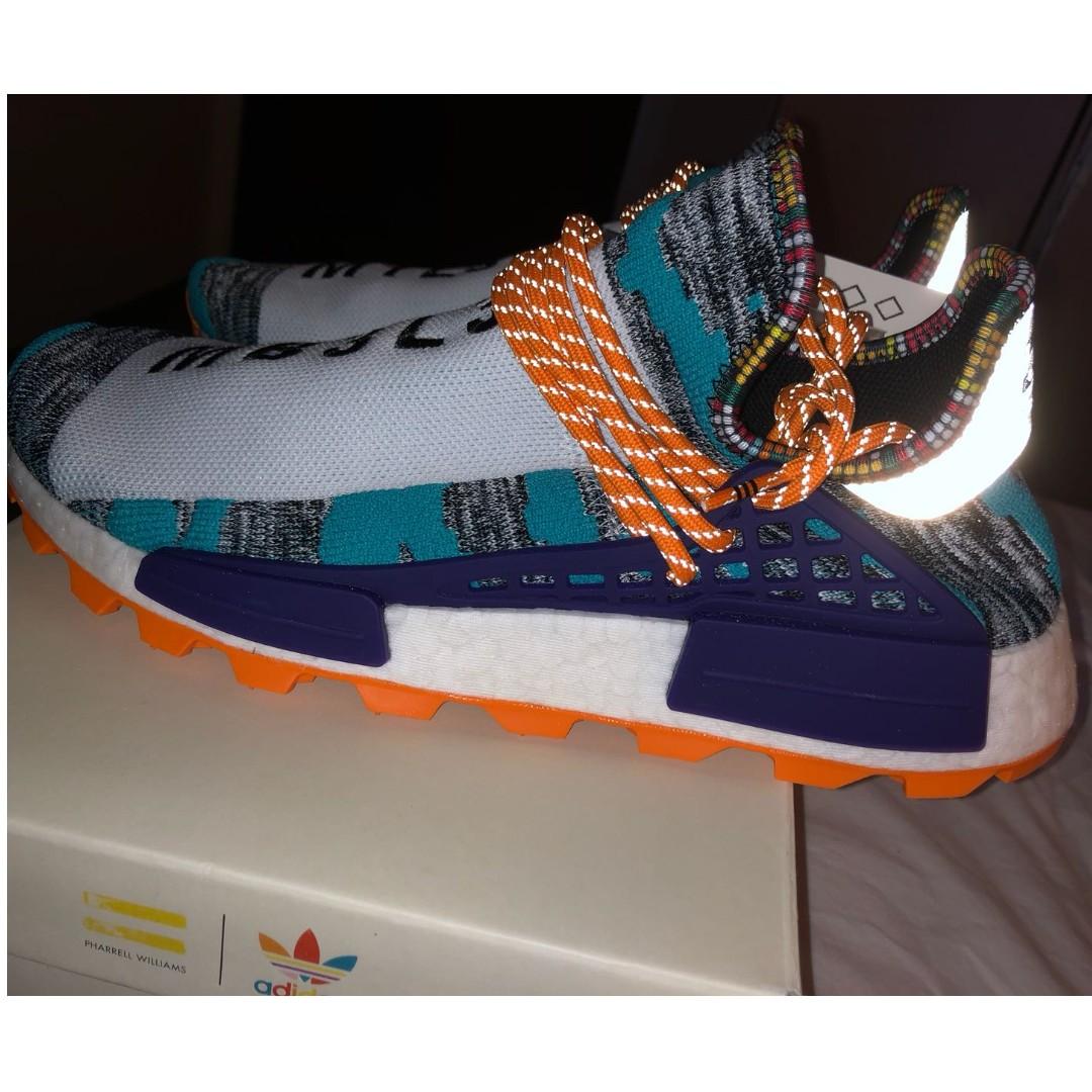 3edb3e609 New 2018 Pharrell Williams Originals Adidas Solar Hu NMD M1L3L3 Men Size US  10