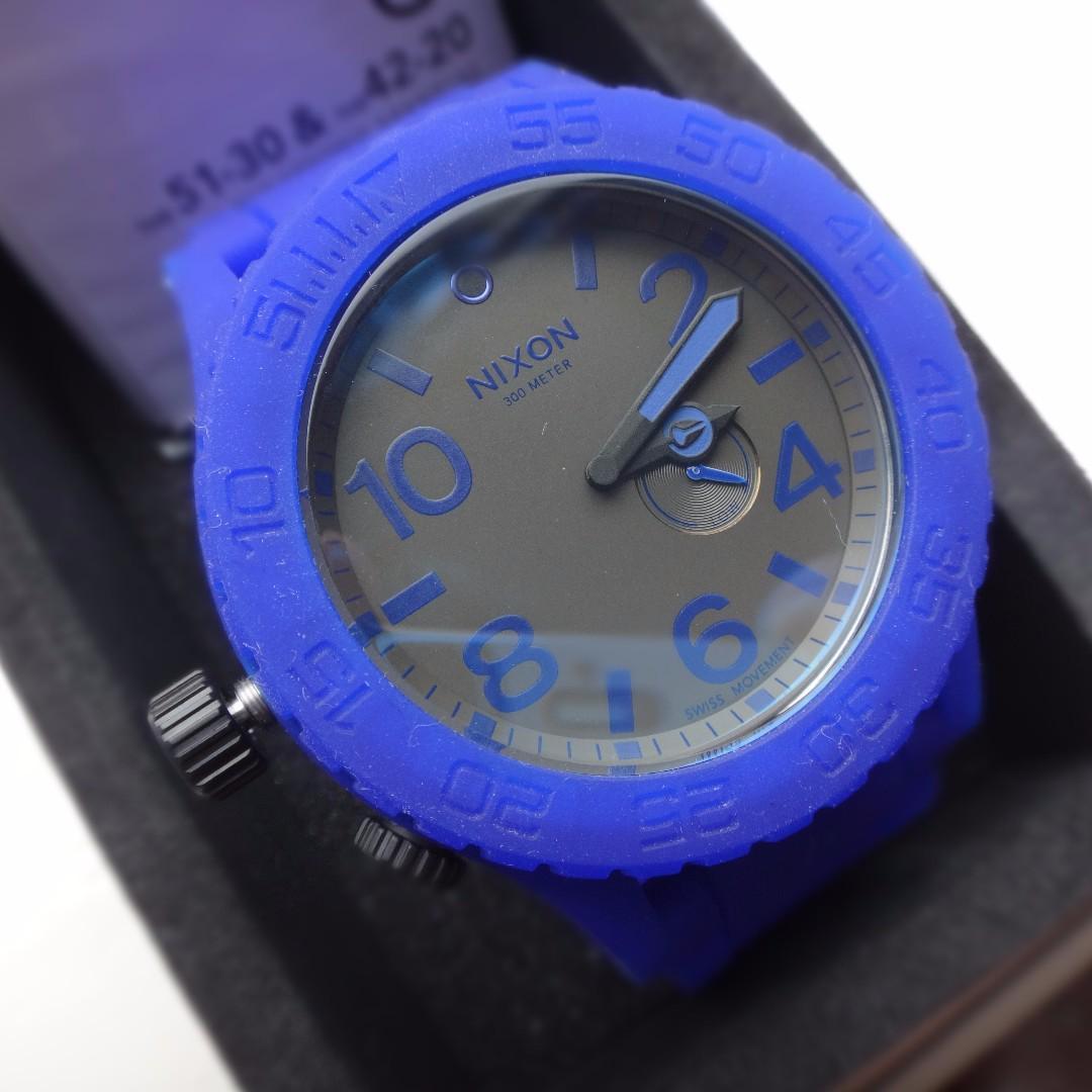 (NEW) Nixon Watch Blue edition