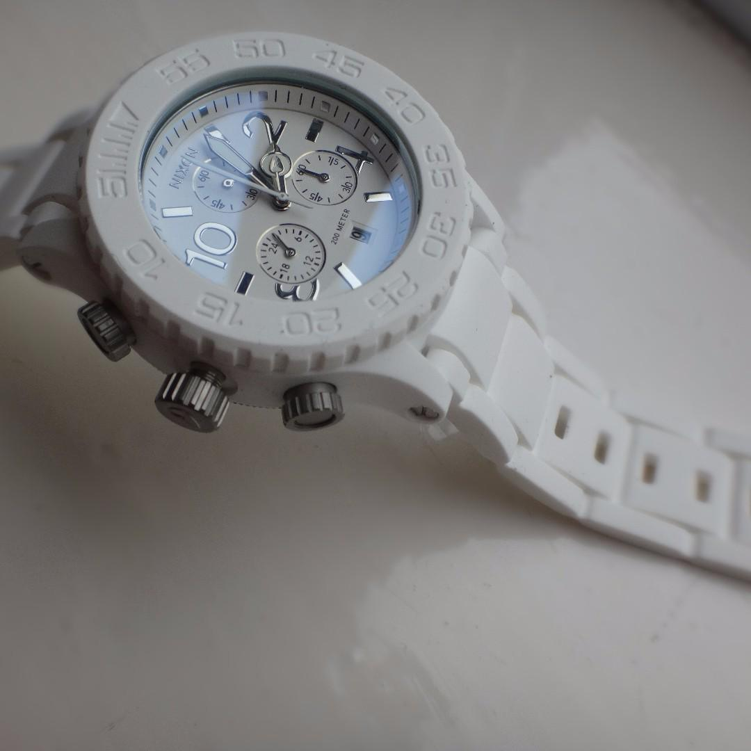 (NEW) Nixon Watch White edition for girl
