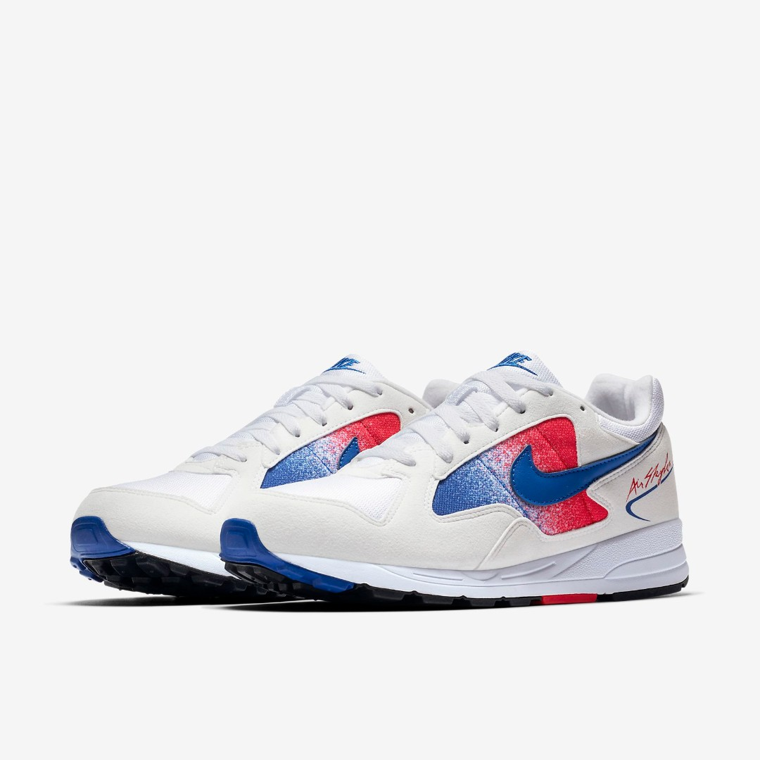 b802a542a9b8 LIMITED TIME OFFER  NIKE AIR SKYLON II - WHITE UNIVERSITY RED BLACK ...
