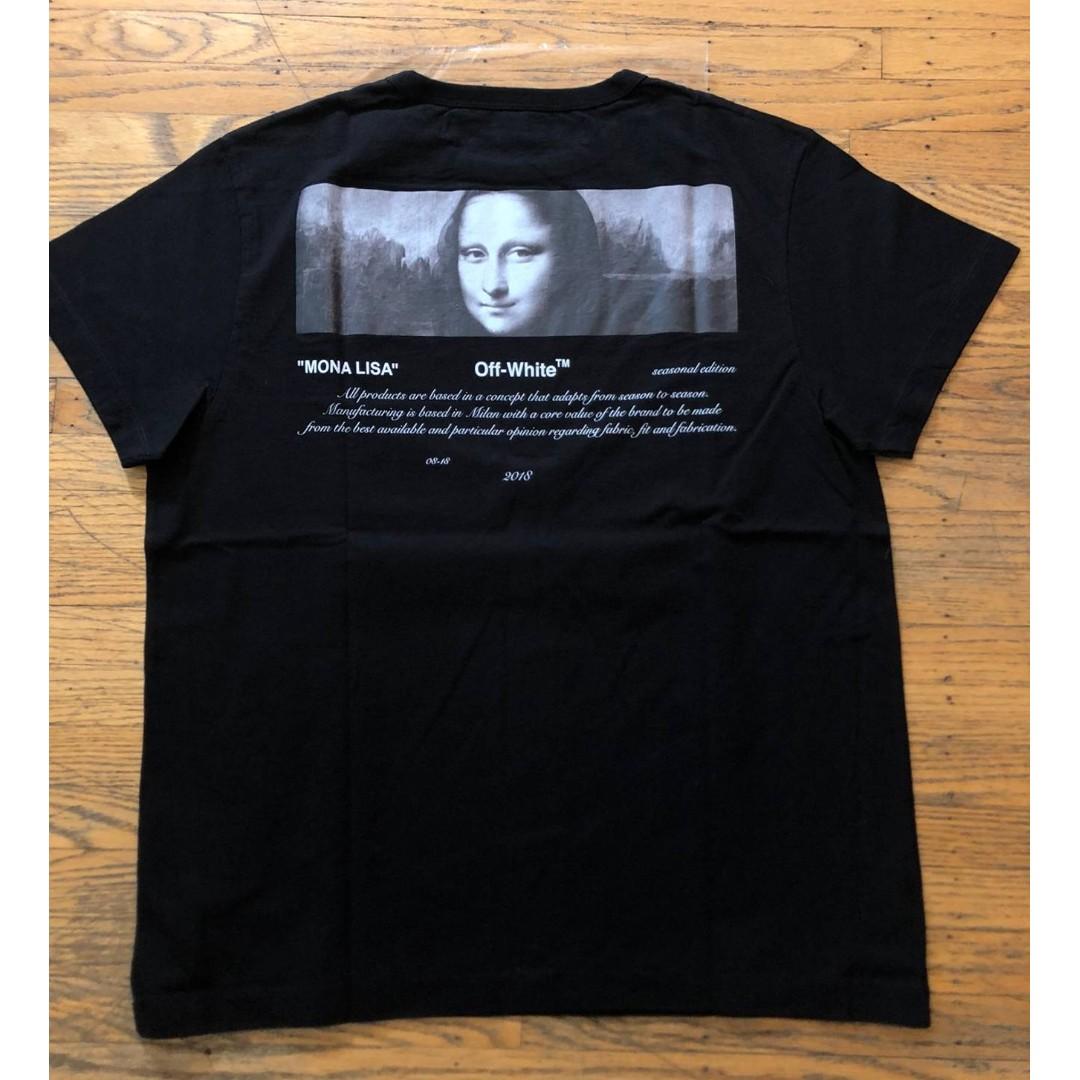 8013f94cb2b Off White For All Mona Lisa Tee