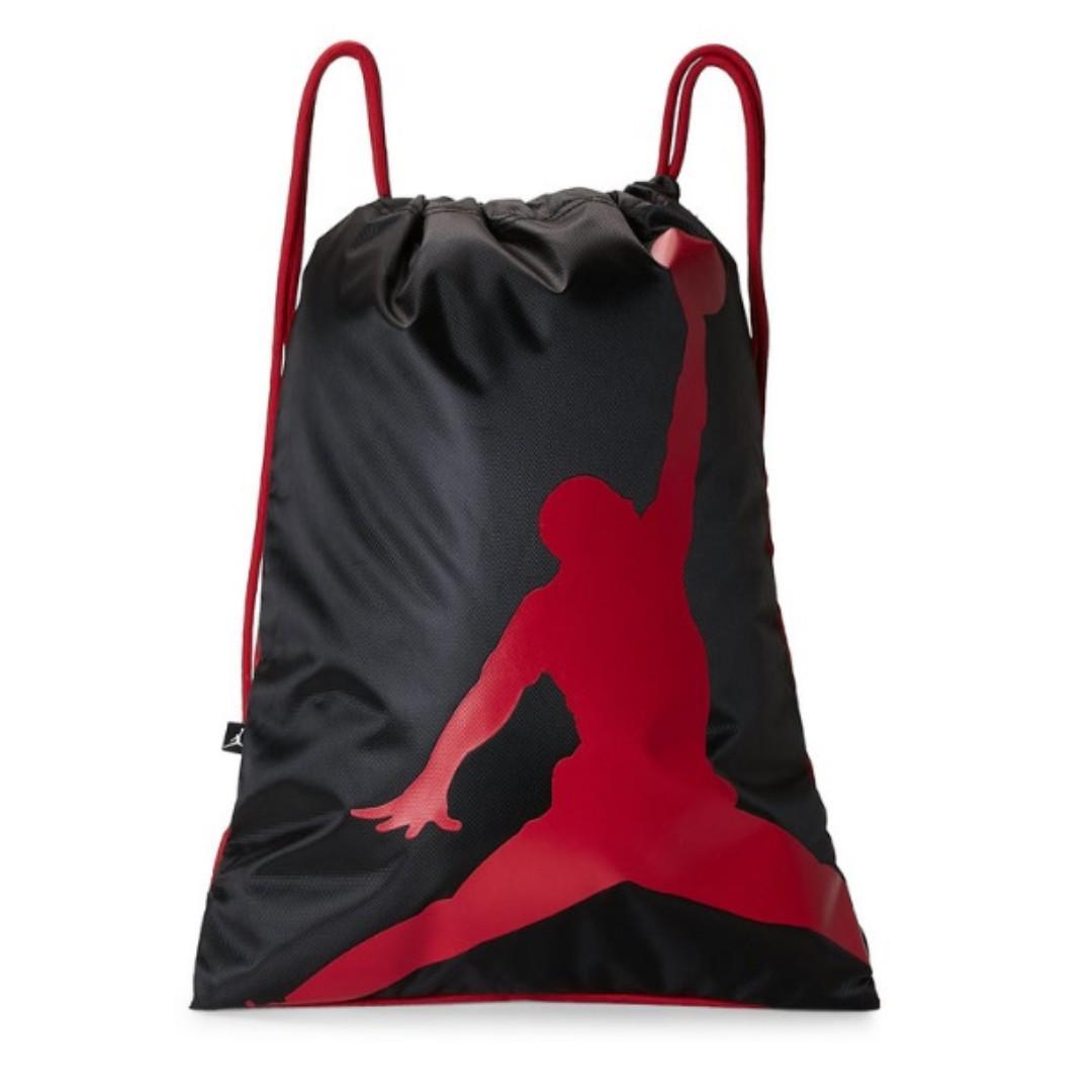 080bfca10267 Original Jordan Drawstring Backpack Bag on Carousell