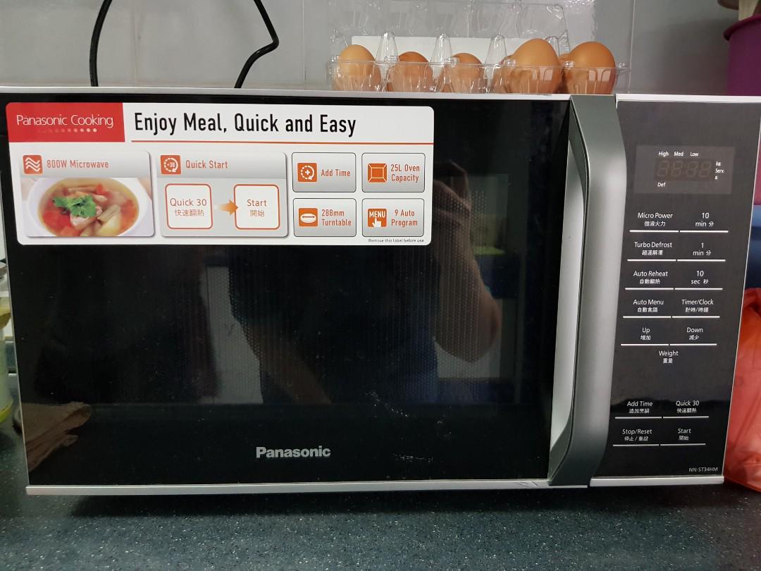 Panasonic Microwave Oven Nn St34hm