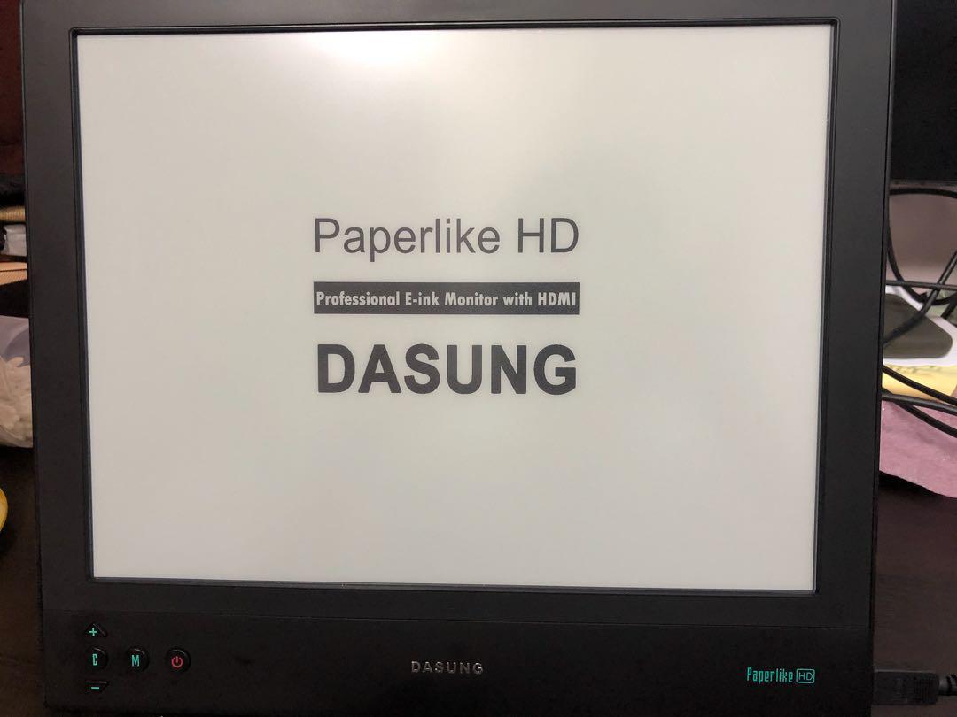 Paperlike 3 eink display monitor (like a big kindle