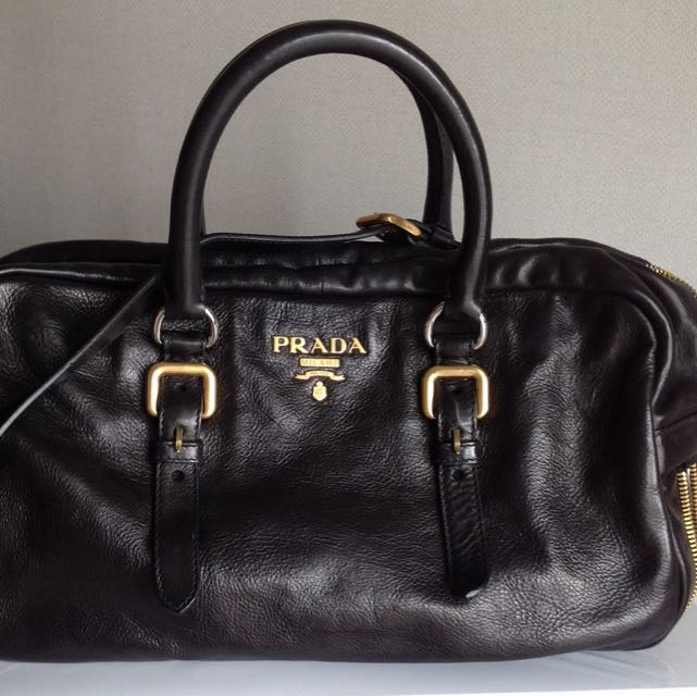 ae2097d92448 Prada Limited Leather Tote Bag, Women's Fashion, Bags & Wallets ...