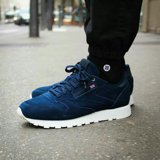 e946cbf8 Sepatu Reebok Classic Leather X Montana Cans Color System Original ...