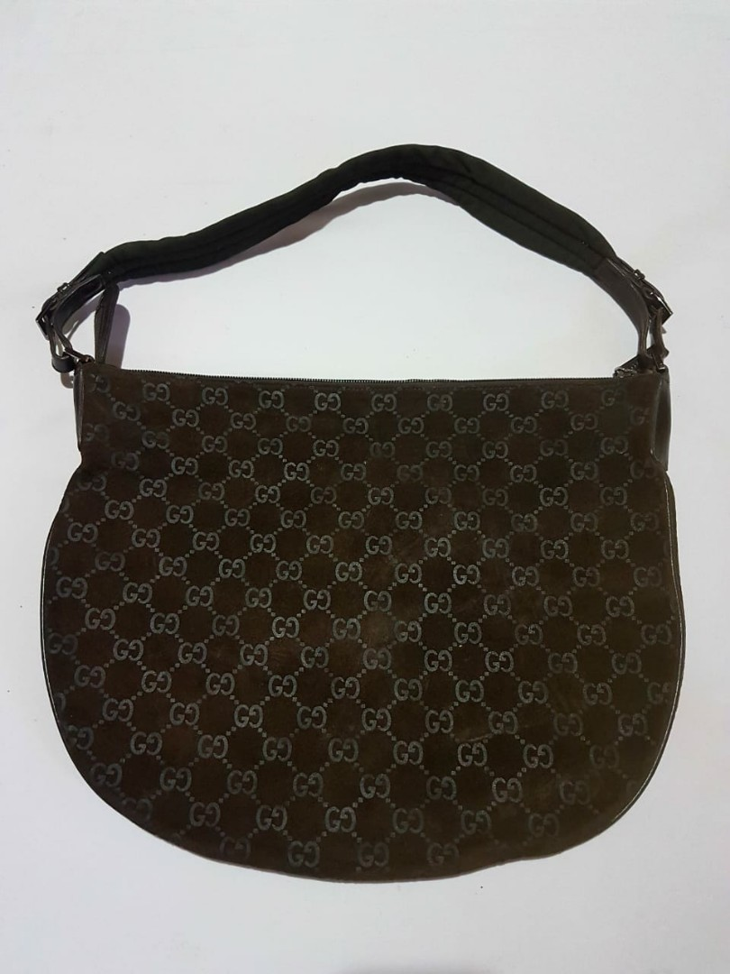 a9cfb7ea11b9aa Tas Authentic Gucci Original Hobo Bag Serial Number Attached no ...