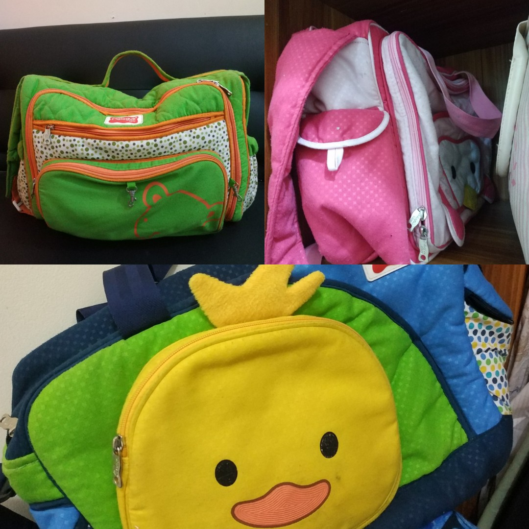 1010 Tas Diapers Bayi Merk Dialog Original Babies Kids Dialogue Baby Besar 3 In 1 Unique Series Strawberry Others On Carousell