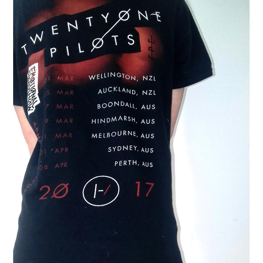 Twenty One Pilots Concert Tee