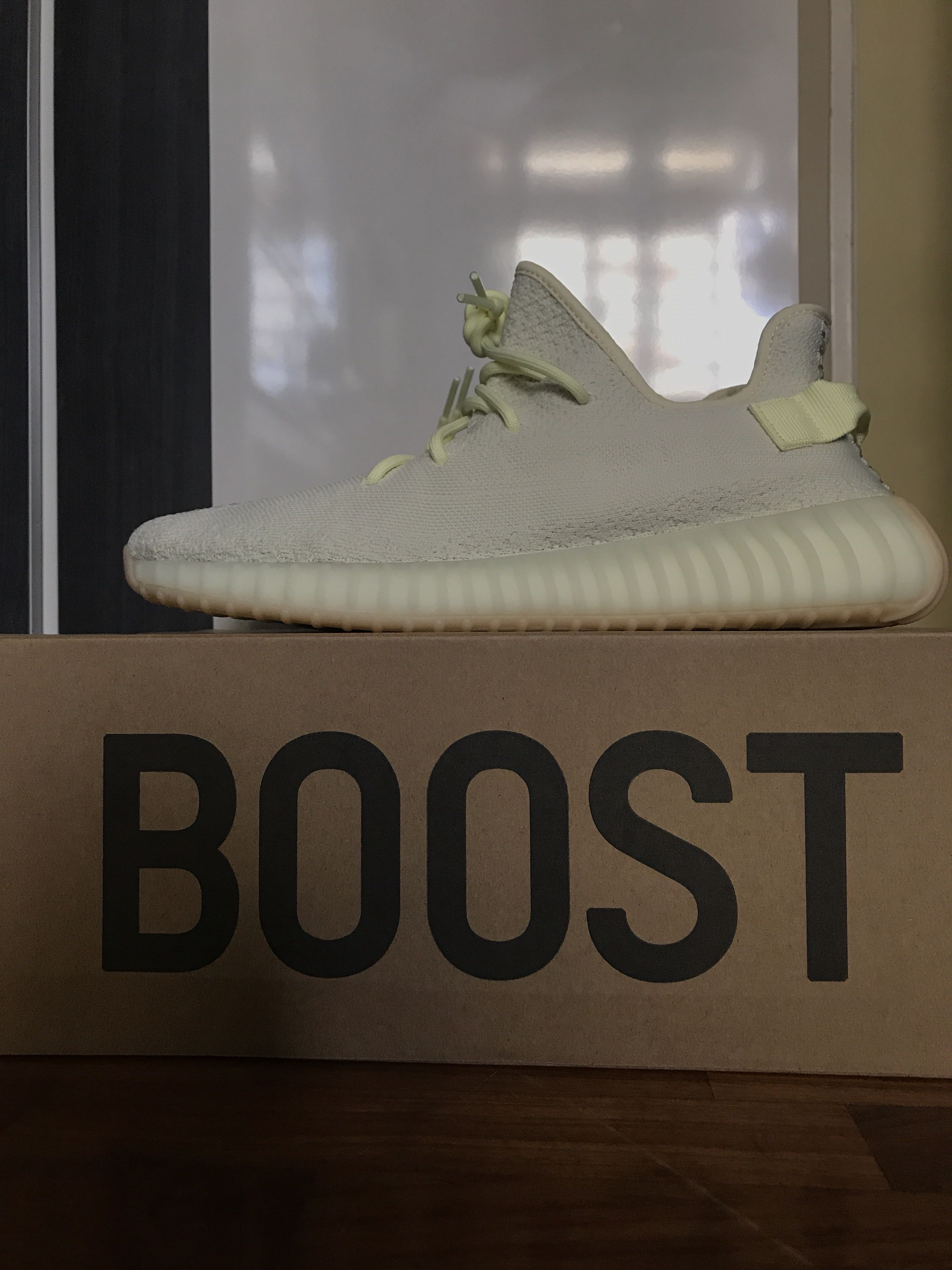 ae5c83b9f US12 Yeezy Boost 350 V2 Butter