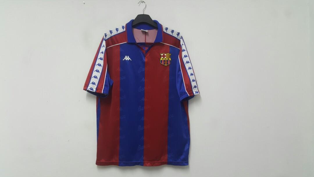 new products 05a67 57a3f Vintage kappa jersey FC Barcelona 1992-1995