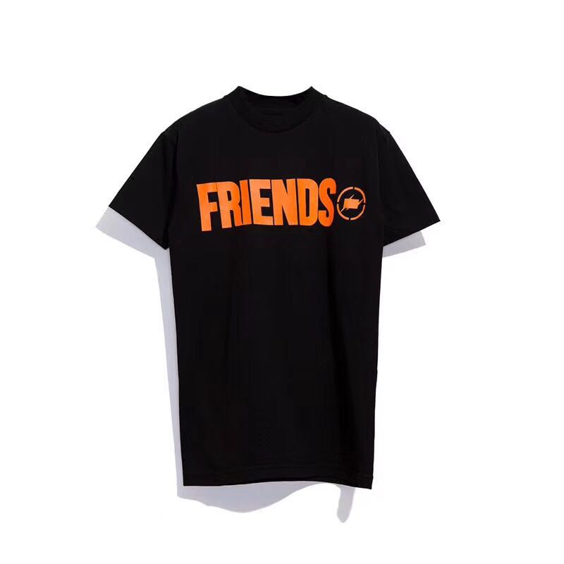 1fecd71e0 Vlone x Fragment Friends Tee, Men's Fashion, Clothes, Tops on Carousell