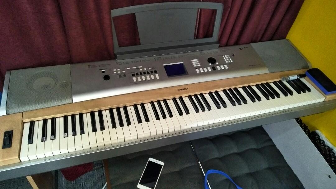 Yamaha Keyboard Dgx 630, Music & Media, Music Instruments on