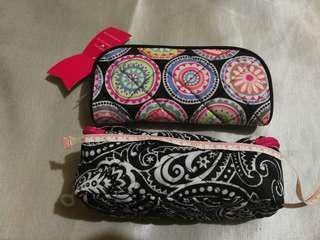 筆袋化妝袋實用袋兩個