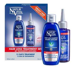 NaturVital Hair Loss treatment set (travel pack)