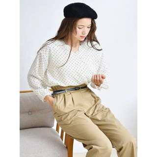 💌包順豐💌earth music & ecology兩件套lace背心+雪紡衫