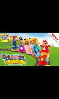 Jollibee Jolly Train Ride
