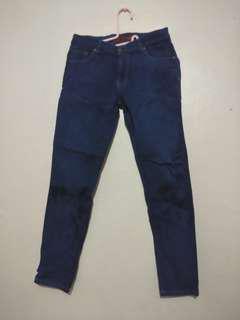 Celana Jeans Bebe Biru Navy
