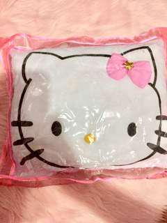 Hello kitty pillow. 💕