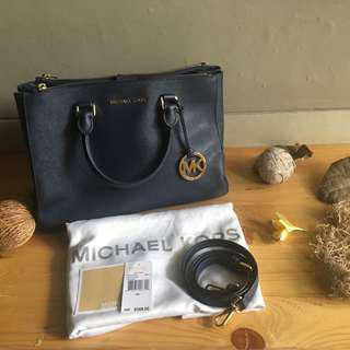 Mk sutton navy large