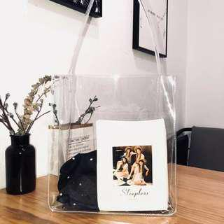 Transparent Clear Tote Bag