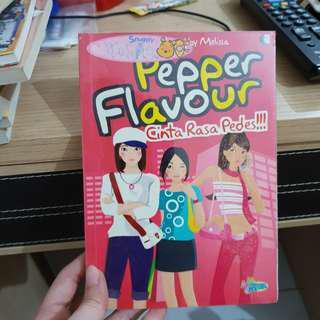 Novel teenlit - pepper flavour