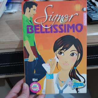 Novel teenlit - signor bellisimo