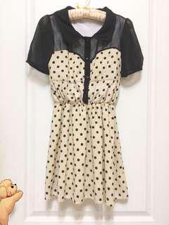 透視點點洋裝#九月女裝半價