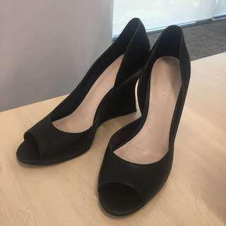 Charles & Keith Black High Heel Shoes