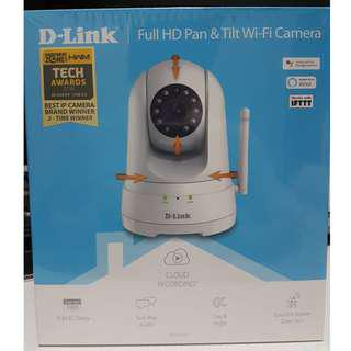 D-Link Full HD Pan and Tilt Wi-Fi Camera DCS-8525LH