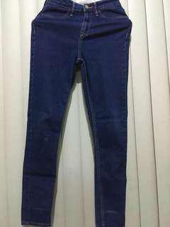H&M skinny ankle pants