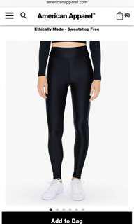 BRAND NEW American Apparel high waist leggings
