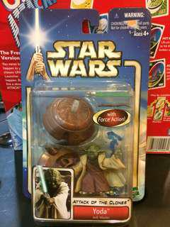 Star Wars 90s Toys Figure Yoda