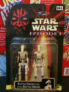 Star Wars Figure 90s Toys Battle Droids