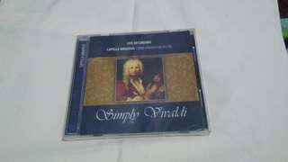 Live Recording Capella Amadeus String Chamber Orchestra Simply Vivaldi