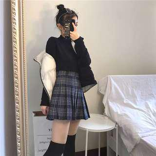 Plaid Skirt (instock)