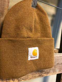 🚚 Carhartt 毛帽 咖啡色 全新