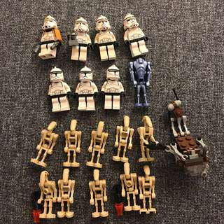Lego Star Wars 人仔 19pcs [206]